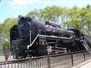 機関車の右側