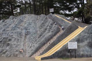 巨大滑り台というか、山