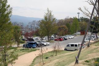 駐車場スペースもたくさんありますが、休日は混雑をします