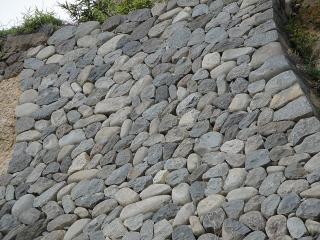 上田城の石垣