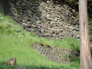 上田城の石垣3