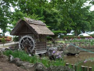 龍門渕公園 水車小屋