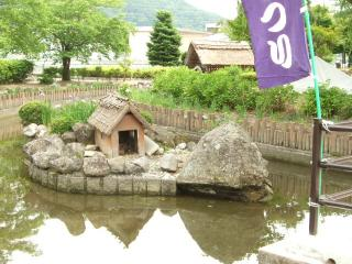 龍門渕公園 小さい小屋