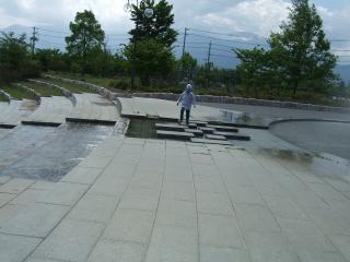 南部公園噴水2
