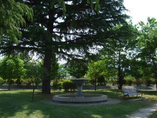 豊科近代美術館 噴水