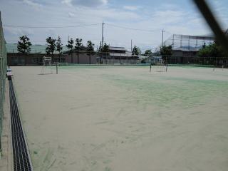 緑ヶ丘公園 テニスコート