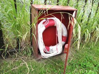 救助ボックスの中身は浮輪