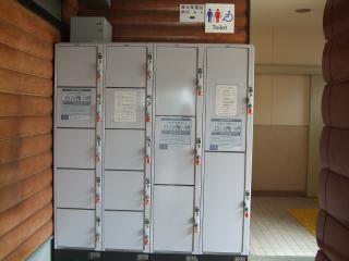 新島々駅 コインロッカー