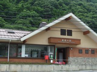 新島々駅 外観