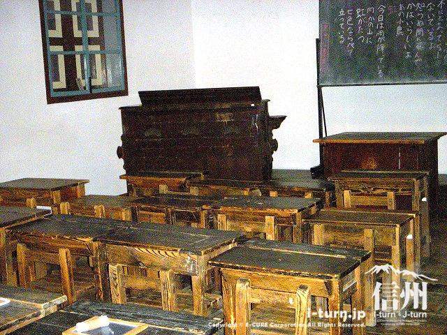 旧開智学校の教室