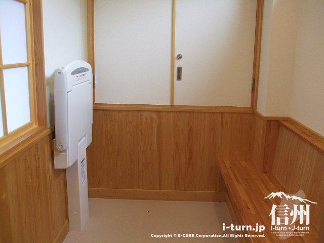 道の駅日義木曽駒高原にある授乳室