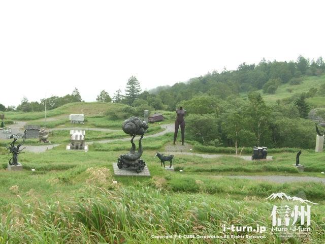 いろいろな野外彫刻