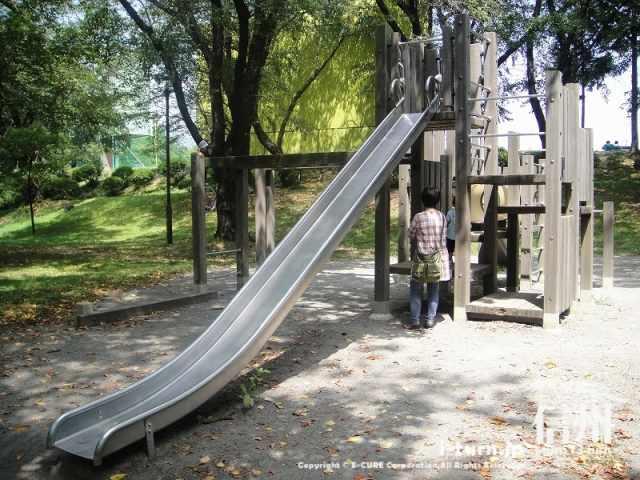 伊那公園 長いすべり台その2
