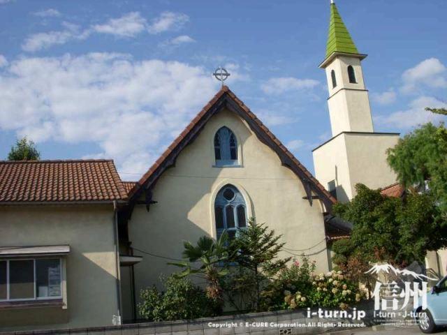 悩んだ時は神頼み|松本聖十字教会|松本市