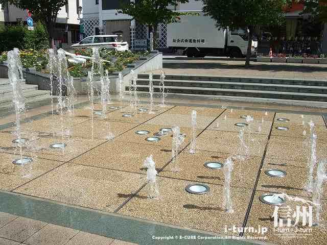 花時計公園噴水 フォーメーション3