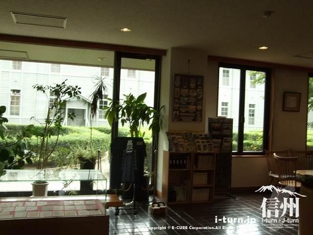 旧制松本高校記念館の中