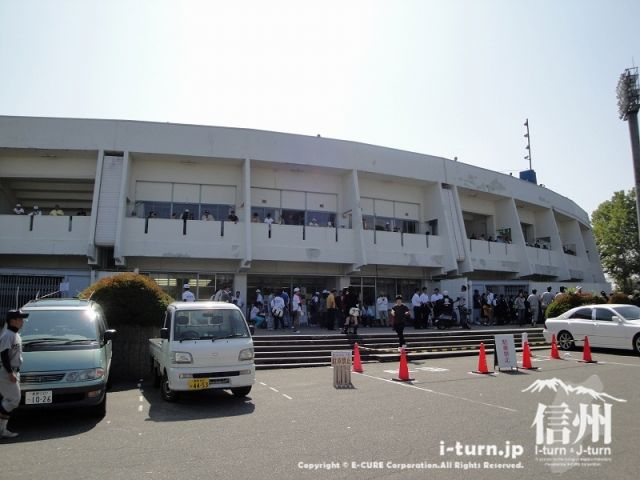 長野運動公園総合運動場|運動で健康作り|長野市吉田