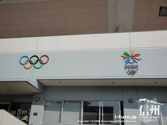 アクアウイングは長野オリンピックのアイスホッケーとパラリンピックの会場