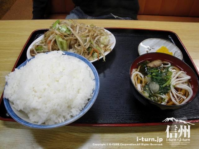 さくら食堂 野菜炒め定食