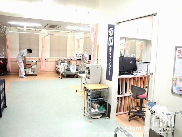 藤森病院 透析センタースタッフルーム前