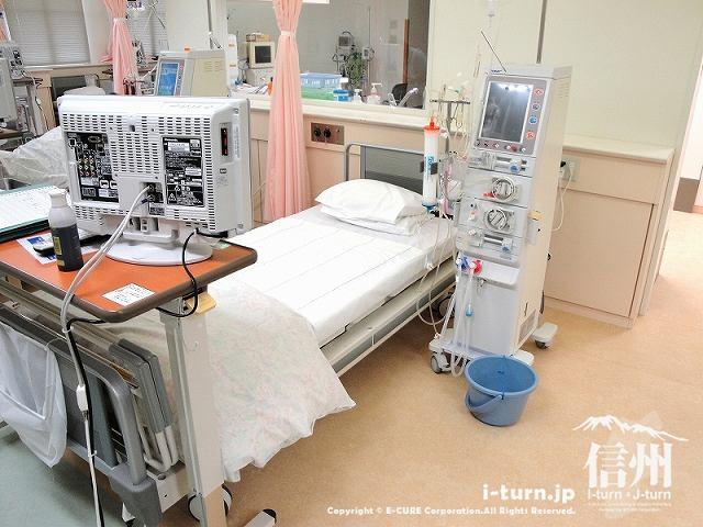 藤森病院 透析する方のベット