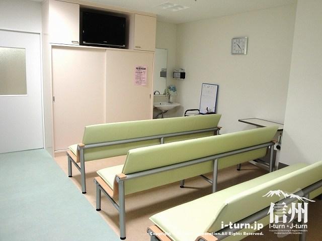 藤森病院 透析センターの待合所