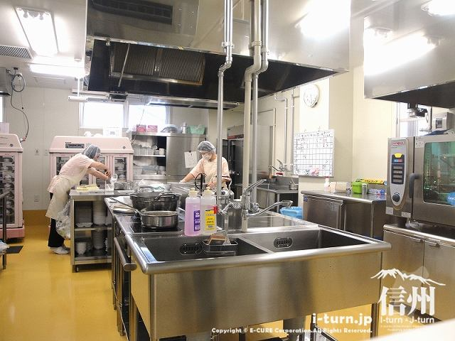 藤森病院 厨房内の風景