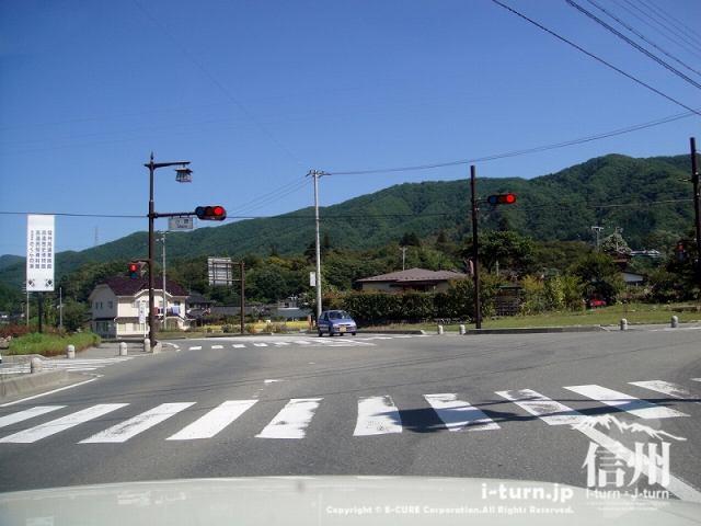 大明神釣堀センター 県道209号より小原信号