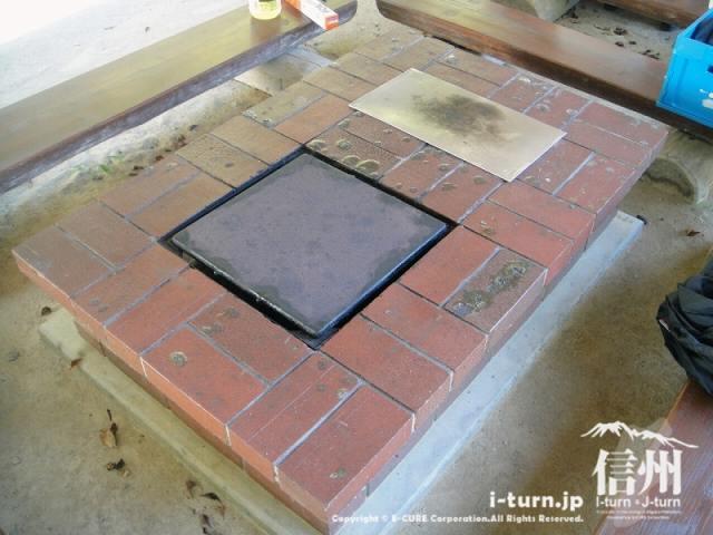 大明神釣堀センター 鉄板と炭焼き