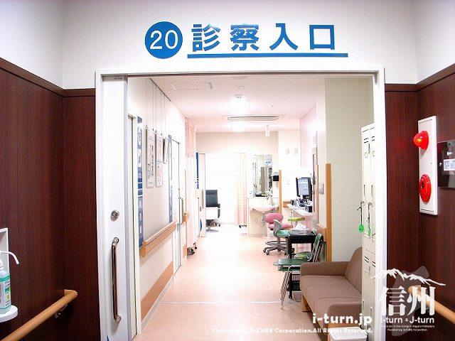 藤森病院 診察室への入口