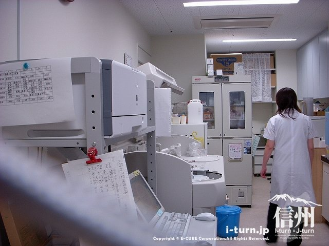藤森病院 血液検査などの検査ルーム