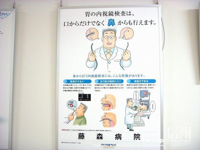 藤森病院 内視鏡検査鼻タイプの説明
