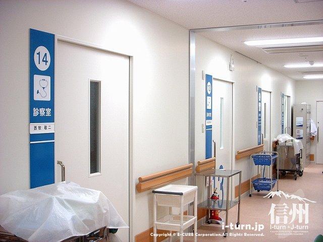 藤森病院 診察室前の風景