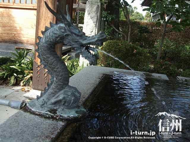 東光寺 日本百水安曇野の湧水
