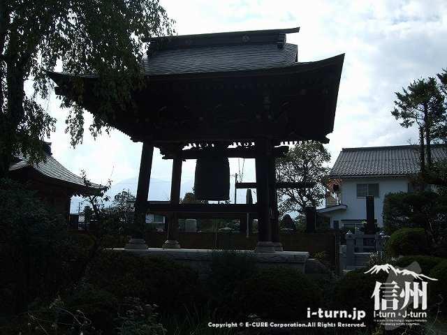 東光寺 鐘楼