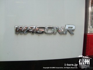 青パトのワゴンRのロゴ