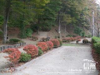 旧国鉄篠ノ井線廃線敷 廃線敷きを利用したマレットゴルフ場