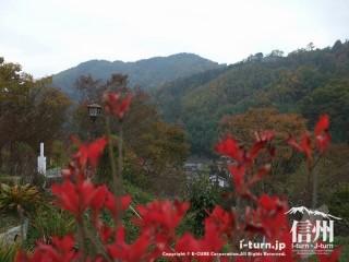 旧国鉄篠ノ井線廃線敷 東平からの眺め