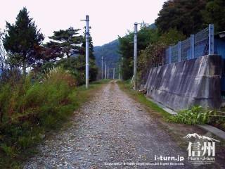 旧国鉄篠ノ井線廃線敷 三五山トンネル周辺の景色