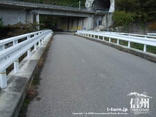 旧国鉄篠ノ井線廃線敷 せごだばし