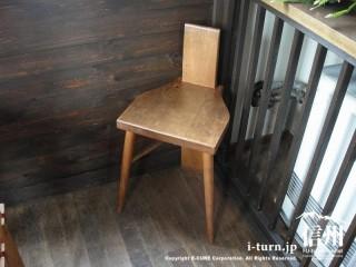 子供用の木製椅子