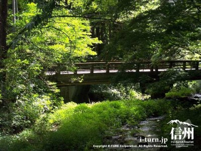 矢ケ崎川と二手橋