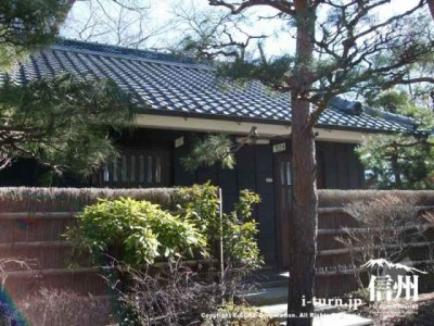 日本家屋のようなトイレ