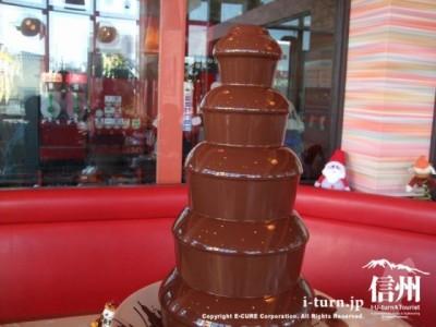 チョコファウンテンタワー