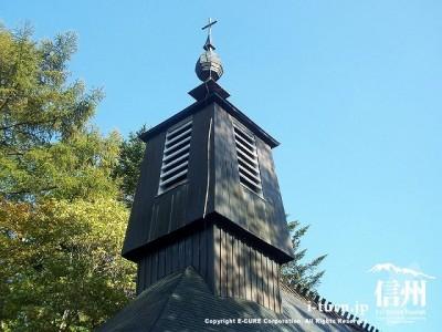 聖パウロカトリック協会 鐘楼と十字架