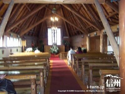 聖パウロカトリック協会 教会内部風景