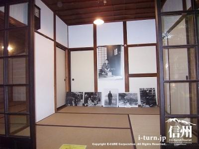 犀星の径・室生犀星記念館 居室Ⅲ