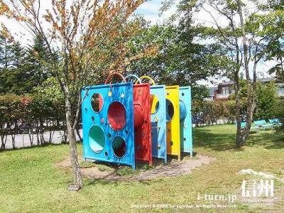 矢ケ崎公園 ジャングルジムⅠ