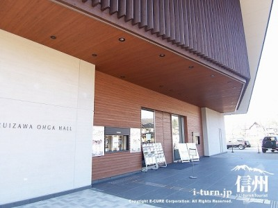 軽井沢大賀ホール 入口
