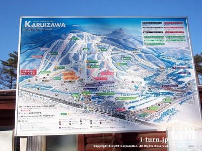 スキー場案内図